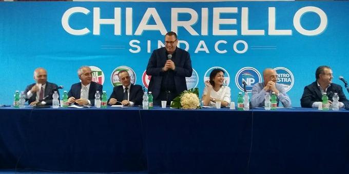 Nella mia amata Sant'Antimo per sostenere Corrado Chiariello sindaco!