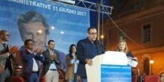 A Somma Vesuviana per l'apertura della campagna elettorale di Celeste Allocca