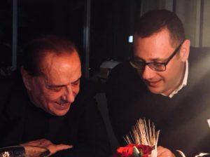 foto Armando Cesaro con il Presidente Berlusconi